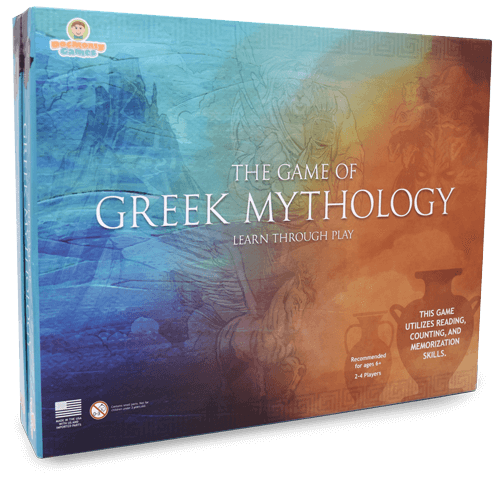 Educational Board Game - The Game of Greek Mythology